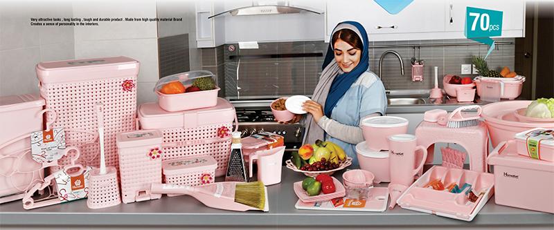 ظروف آشپزخانه عروس | فروشگاه لوازم آشپزخانه | فروشگاه زنبیل در کرج